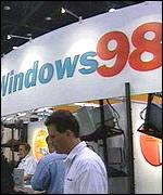 [ image: Microsoft has been promoting Windows 98 heavily, but there is little corporate enthusiasm]