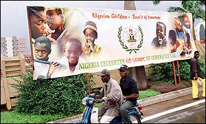 Nigeria's 40th anniversary celebrations