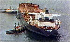 an analysis of the exxon valdez oil tanker accident An oil tanker, the exxon valdez, an analysis of the exxon valdez oil tanker accident has run aground off the alaskan coast, releasing crude oil into the sea 21-3-2017 the exxon valdez oil spill is termed as the most gruesome oil spill in the history of shippingknow the complete story of the exxon valdez oil spill in the.