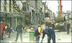 Omagh bomb site