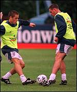 Joe Cole and Nicky Barmby