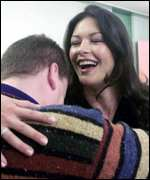 Catherine Zeta Jones and Chris Morgan