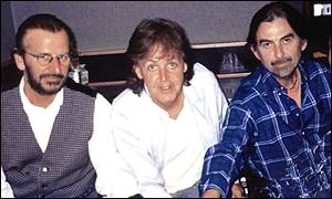 Ringo Starr, Sir Paul McCartney and George Harrison
