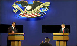 Televised debate between Al Gore and George Bush Jnr.