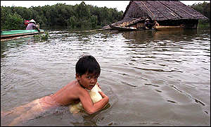 Swimming Against A Current: Cambodias Struggle with the