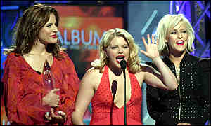 The Dixie Chicks at the Country Music Association Awards