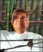 Opposition leader Ranil Wickremasinghe