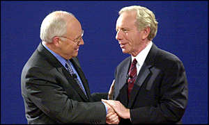 Secretary Dick Cheney and Senator Joe Lieberman