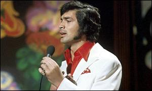Englebert Humperdinck appearing on Top of the Pops in 1970