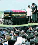 Marcos funeral