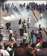 Protests in the Jordanian capital, Amman