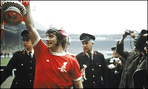 The big time beckoned and Keegan joined Liverpool in 1971.