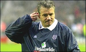 The dream turns sour. Keegan resigns as England manager in 2000 after a 1-0 defeat by Germany.