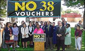 Proposition 38 anti-campaigners
