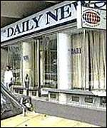 The Daily News offices