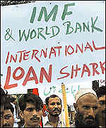 IMF protest