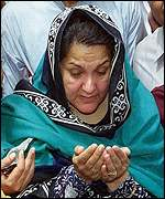 Kulsoom, wife of Nawaz Sharif