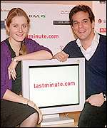 Lastminute.com's Martha Lane Fox and Brent Hobberman