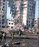 Ruins of Grozny