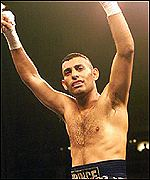 First amateur fight lost by prince naseem hamed
