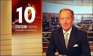 Michael Buerk fronts the new-look bulletin