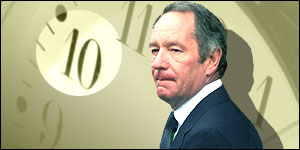 Presenter Michael Buerk previously filed some of the bulletin's most harrowing reports