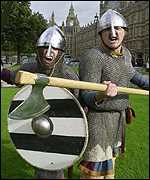 Two Saxons at Westminster