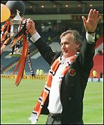 Ivan Golac brought the Scottish Cup to Tannadice