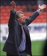 Paul Sturrock could not repeat his success as a United player