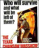 Texas Chansaw Massacre poster