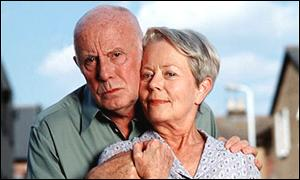 Richard Wilson and Annette Crosbie