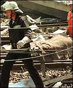 Eschente rail crash