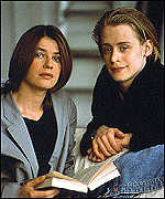 Macaulay Culkin and Irene Jacob