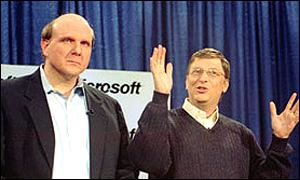Steve Ballmer and Bill Gates