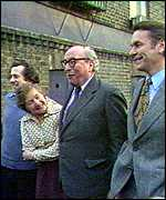 Bill Rodgers, Shirley Williams, Roy Jenkins and David Owen