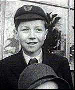 A young Roy Jenkins in a school cap