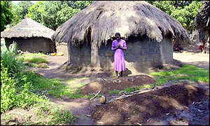 Achin Beatrice in Kabede Opong village