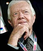 Jimmy Carter at the Democratic Convention