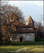 medieval stone church in Georgia
