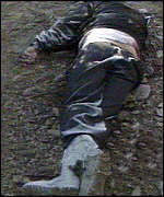 Dead body in Bosnia