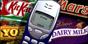 mobile and chocolate BBC