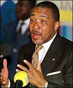 Liberian President Charles Taylor