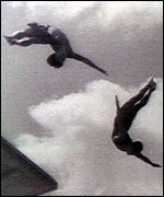 The famous diving sequence in Olympia