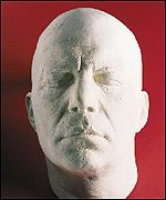 Mould of William Shatner's face
