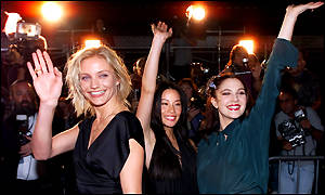 Cameron Diaz, Lucy Liu, and Drew Barrymore
