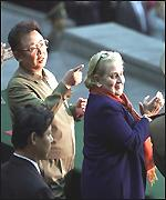 Albright and Kim Jong-il