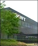Sony plant, south Wales