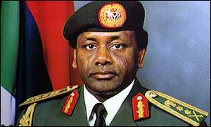 Nigeria's former military ruler, the late Sani Abacha