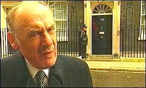 David Wright in Downing Street