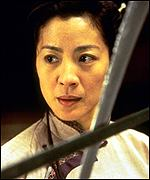 Yu Shu Lien is played by Michelle Yeoh